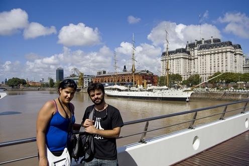 Dani y yo en el Puente de la Mujer-0029