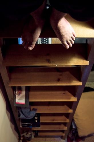 Escaleras abajo