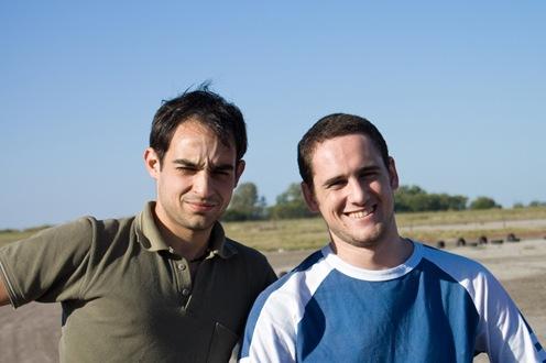 Damián y Nico en la pista-0962