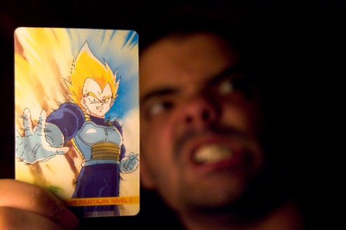 Yo con la tarjeta de Vegeta-1148