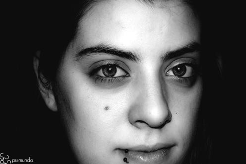 Eva en blanco y negro