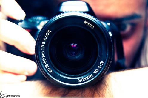 Nikon D40 y yo copia